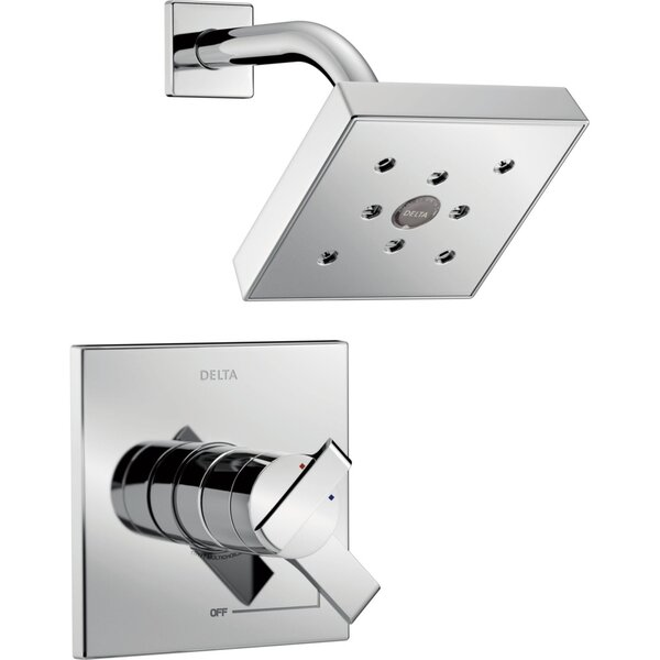 Ara Pressure Balanced Shower Faucet With H2Okinetic Technology By Delta