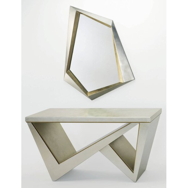Console Table and Mirror Set by Artmax