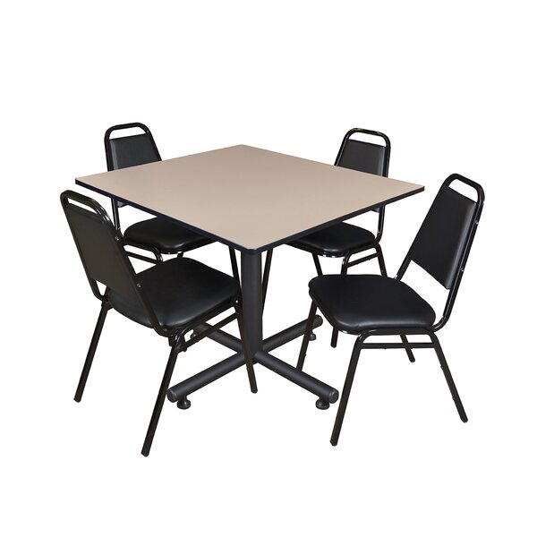 Marin 48 Square Breakroom Table by Symple Stuff