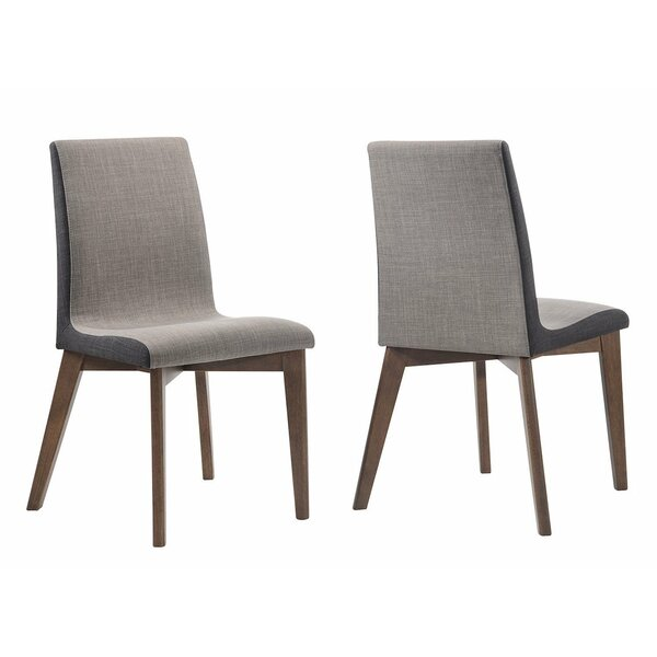 Bickel Upholstered Dining Chair (Set Of 2) By George Oliver