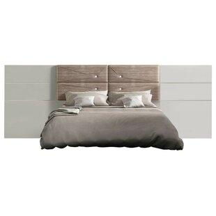 Berkley High Gloss Panel Bed by Orren Ellis
