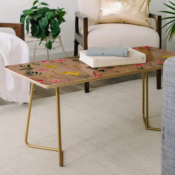 Holli Zollinger Wildflower Study Coffee Table by East Urban Home