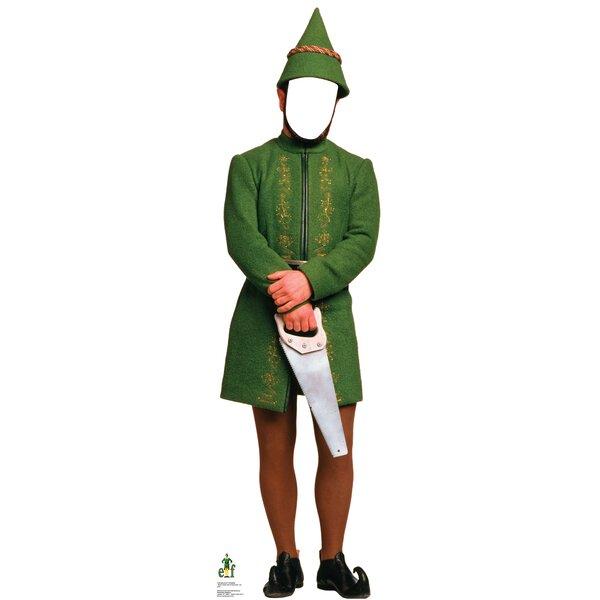 Male Elf Standin - Movie Elf Cardboard Standup by Advanced Graphics