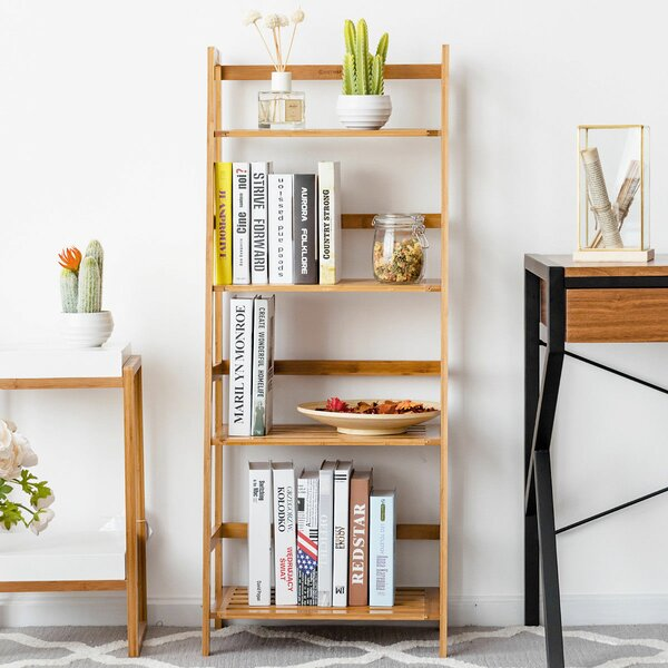 Dias Standard Bookcase by Rebrilliant