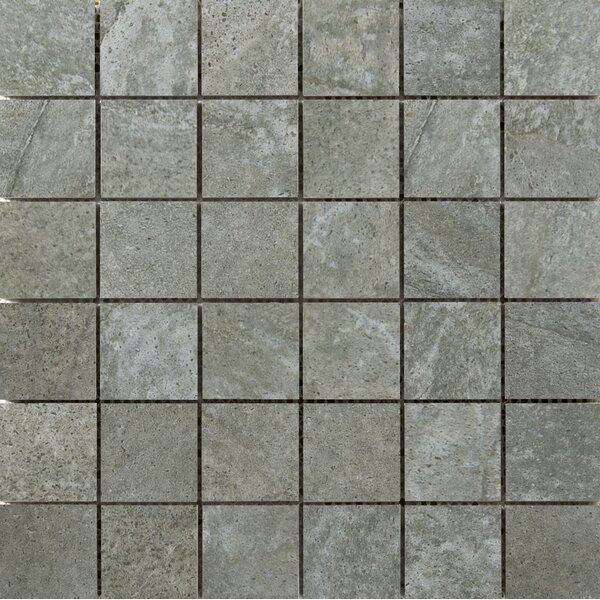 Trovata 2 x 2 Porcelain Mosaic Tile in Ledger by Emser Tile