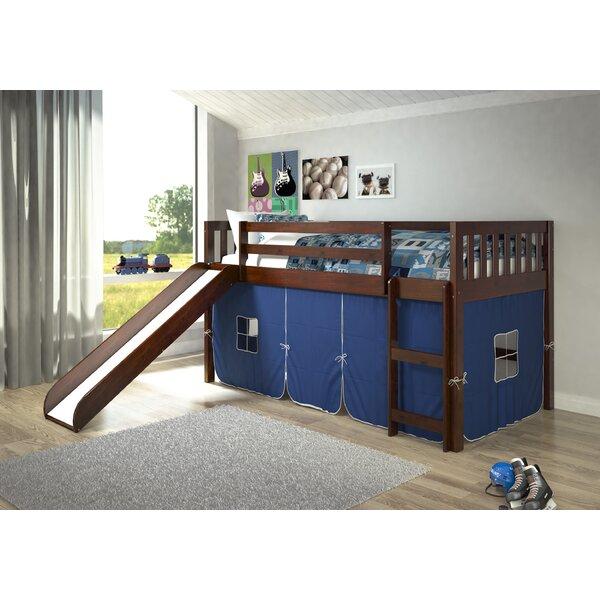 Selzer Mission Twin Low Loft Bed by Viv + Rae Viv + Rae