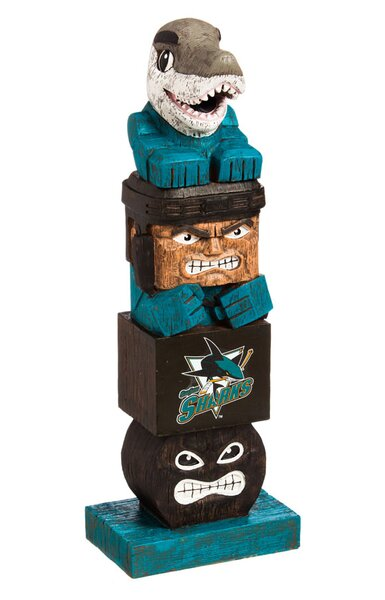 NHL Tiki Totem Statue by Evergreen Enterprises, Inc
