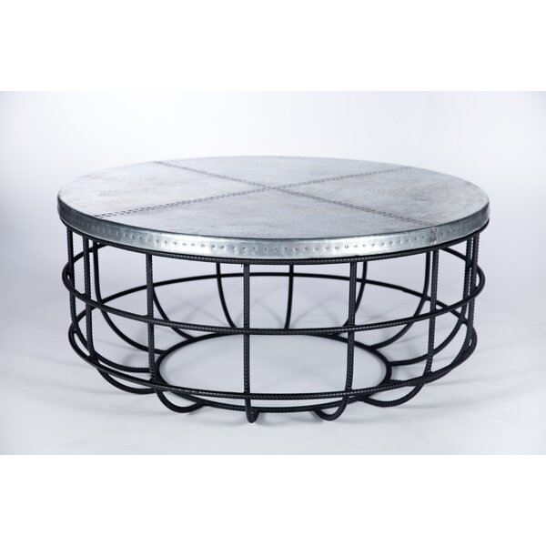 Tierra Rebar Coffee Table by Gracie Oaks
