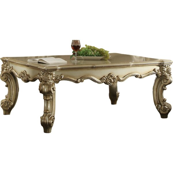 Fatima Wood Coffee Table by Astoria Grand