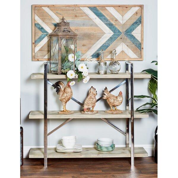 Satterwhite 3-Tiered Etagere Bookcase by Brayden Studio