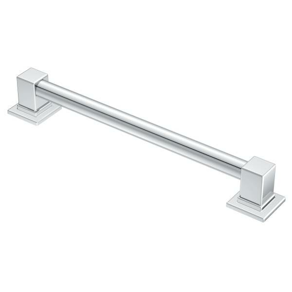 90 Degree Designer Grab Bar by Moen