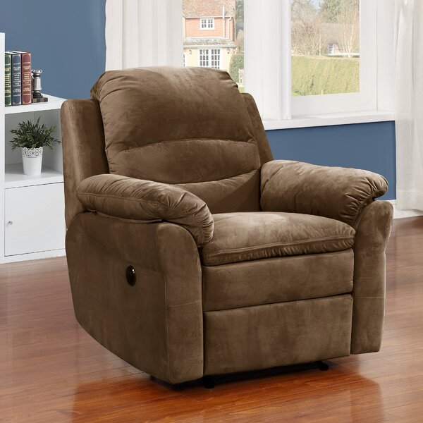 Felix Transitional Electric Power Recliner by AC PacificFelix Transitional Electric Power Recliner by AC Pacific