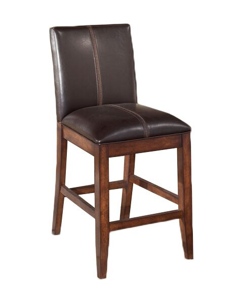 Spencerville 24 Wood Bar Stool (Set of 2) by Three Posts