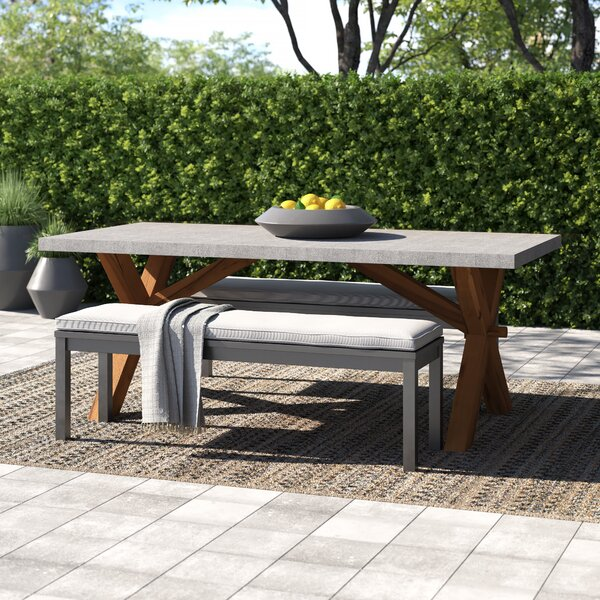 Caelan Dining Table by Beachcrest Home