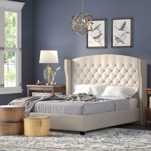 Arandike Upholstered Platform Bed by Darby Home Co