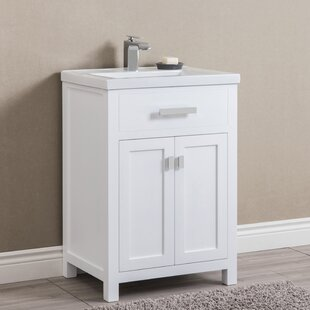 "Quickview. Zipcode Design. Knighten 24"" Single Bathroom Vanity"