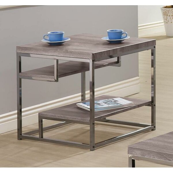 Coen End Table with Storage by Latitude Run