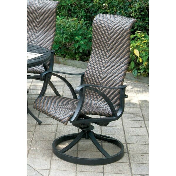 Caraballo Patio Dining Chair (Set of 2) by Darby Home Co