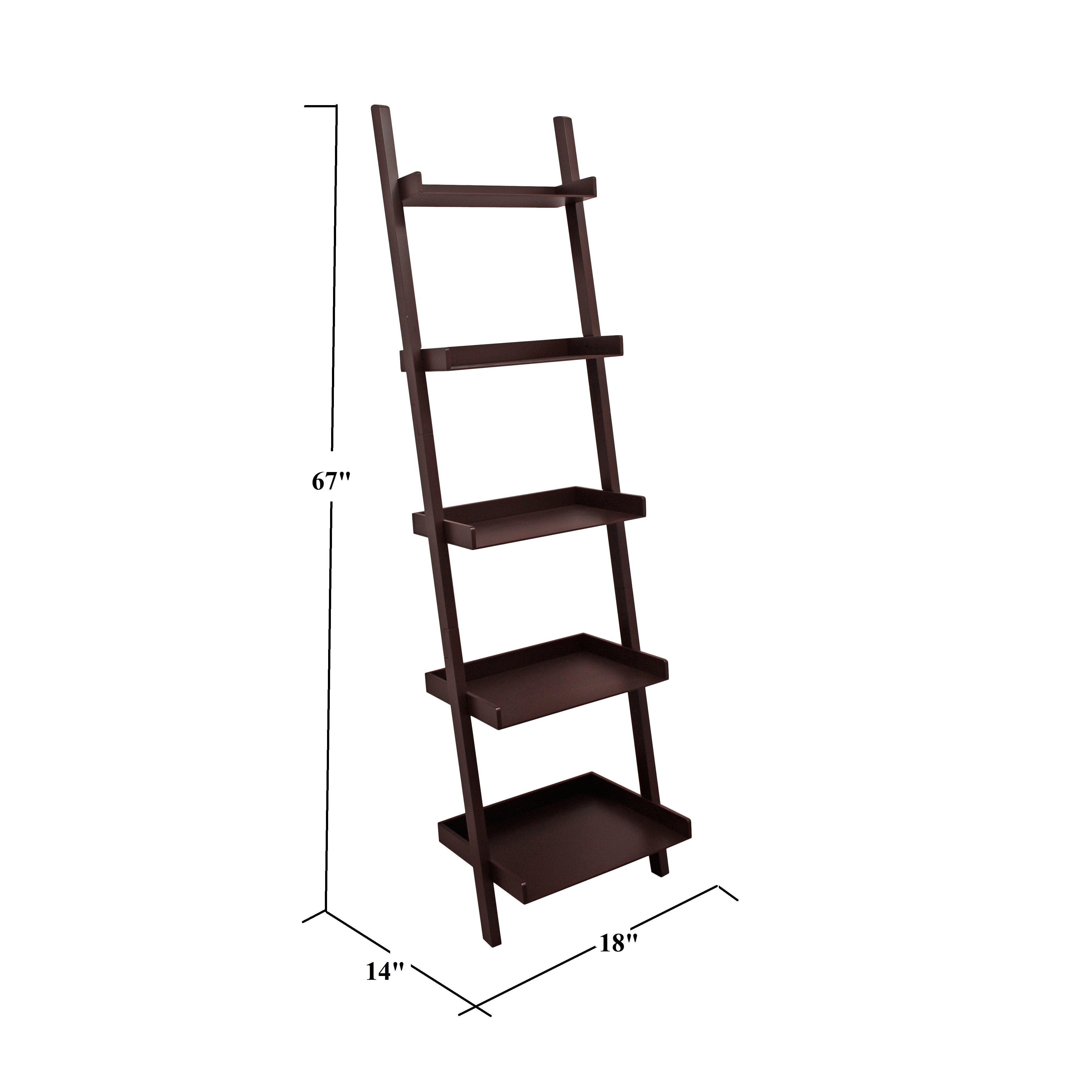 Pfaff 5 Tier Ladder Bookcase