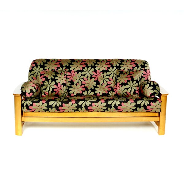 Flower Box Cushion Futon Slipcover by Lifestyle Covers