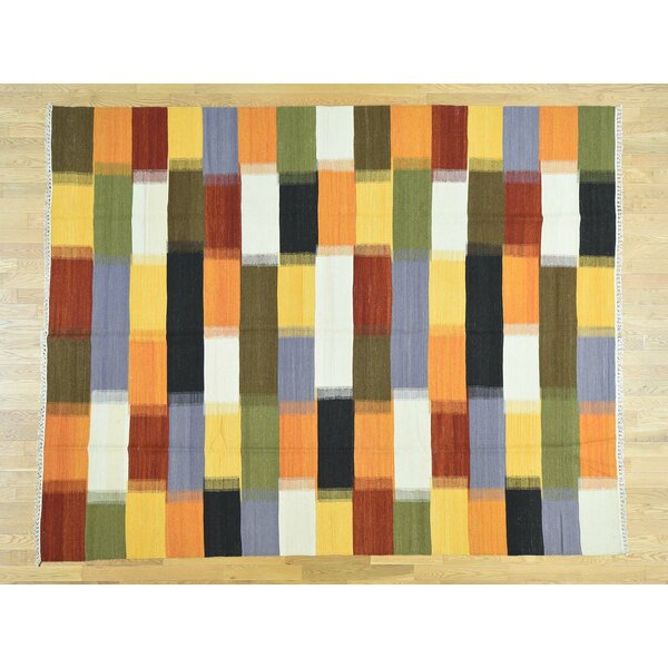 One-of-a-Kind Beeler Handmade Kilim Wool Area Rug by Isabelline