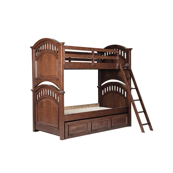 Dorchester Twin Bunk Bed with Drawers by Viv + Rae