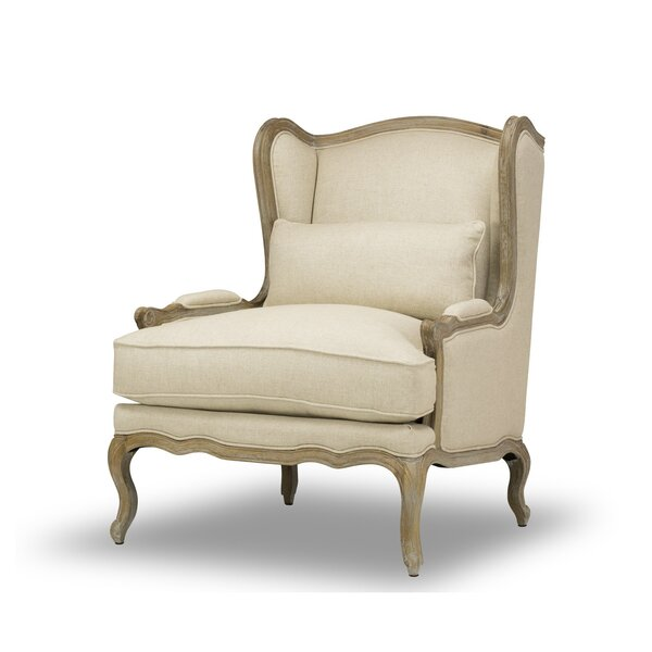 Largent Wingback Chair by One Allium Way