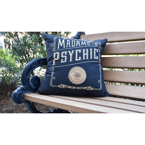 Maser The Psychic Eye Halloween Outdoor Throw Pillow by The Holiday Aisle