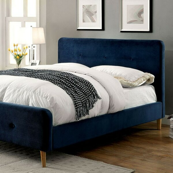 Asherman Contemporary Upholstered Platform Bed by Brayden Studio