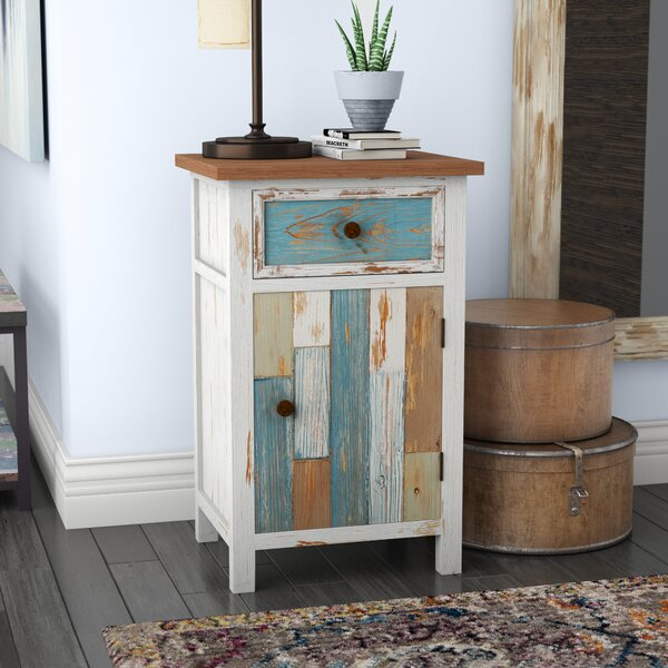 Cecile 1 Drawer Accent Cabinet [Highland Dunes]