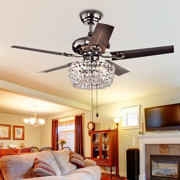 43 Aslan 5 Blade Ceiling Fan by Astoria Grand