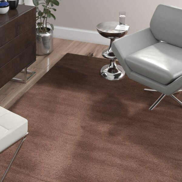 Bargo Brown Area Rug by Wade Logan