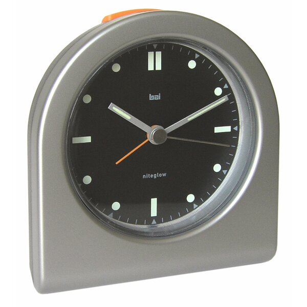 Designer Pick-Me-Up Alarm Clock in Timemaster Black by Bai Design