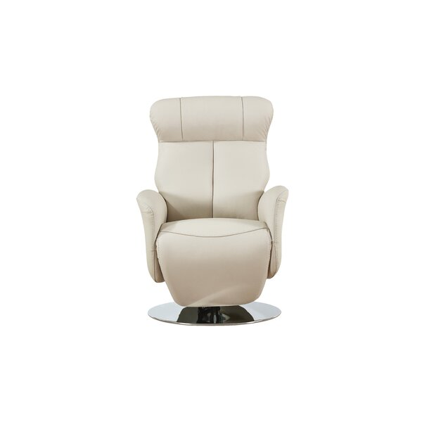 Gino Leather Power Recliner by Orren Ellis Orren Ellis