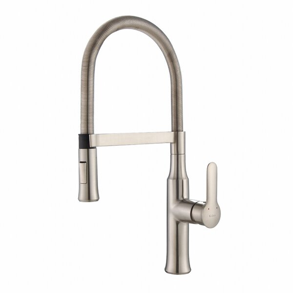 Nola Pull Down Single Handle Kitchen Faucet by Kraus