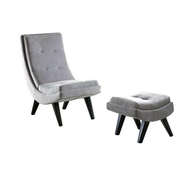 Avianna Lounge Chair by Everly Quinn