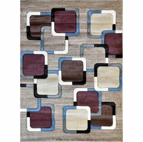 Taupe Area Rug by Rug Tycoon
