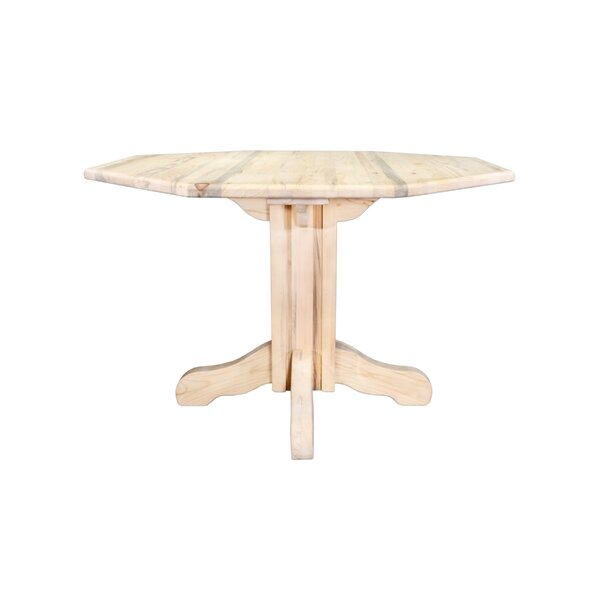 Katlyn Center Pedestal Table by Mistana