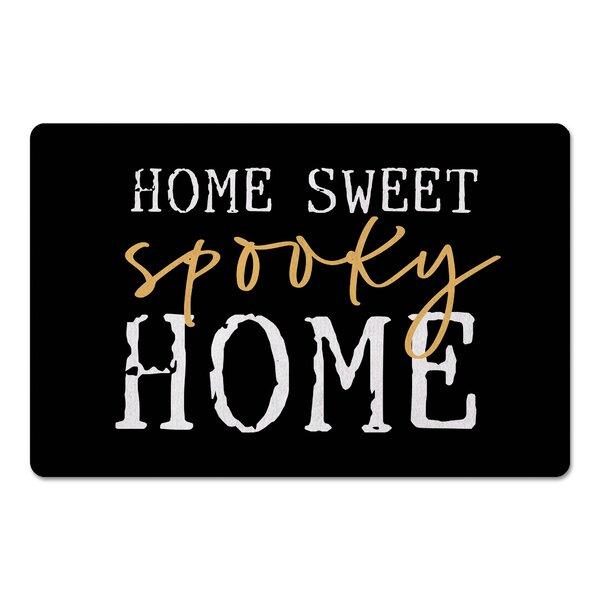 Juene Home Sweet Spooky Home Kitchen Mat