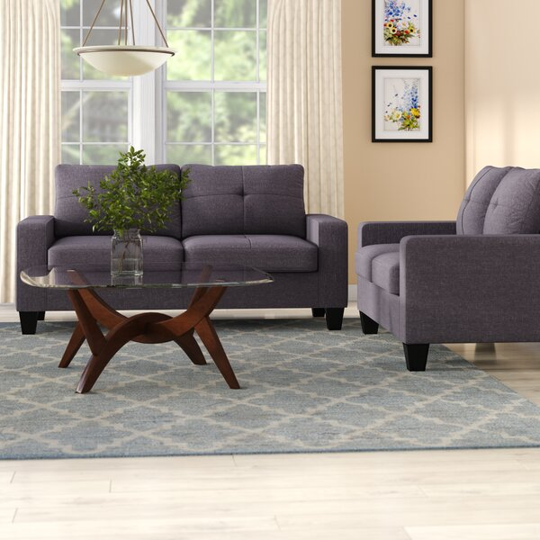 Reviews Offerman 2 Piece Living Room Set by Winston Porter