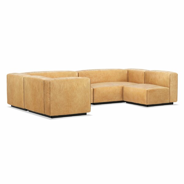 Cleon Large Leather 167 Modular Sectional
