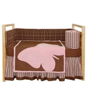 Look for Butterfly Baby 4 Piece Crib Bedding Set ByTadpoles