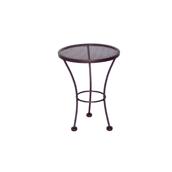Bella Metal Side Table by Meadowcraft