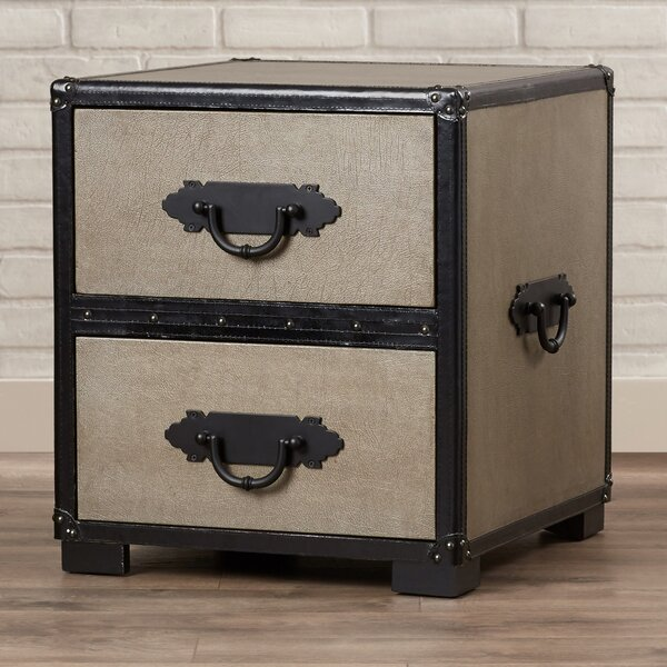 Devyn End Table with Storage by Williston Forge