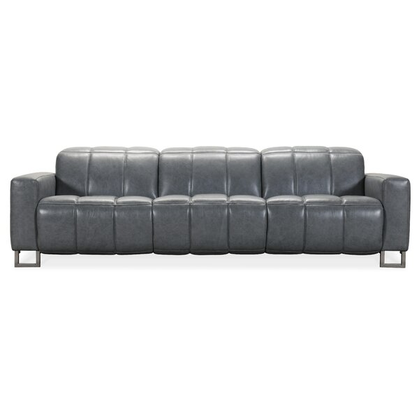 Giancarlo Leather Reclining Sofa by Hooker Furniture