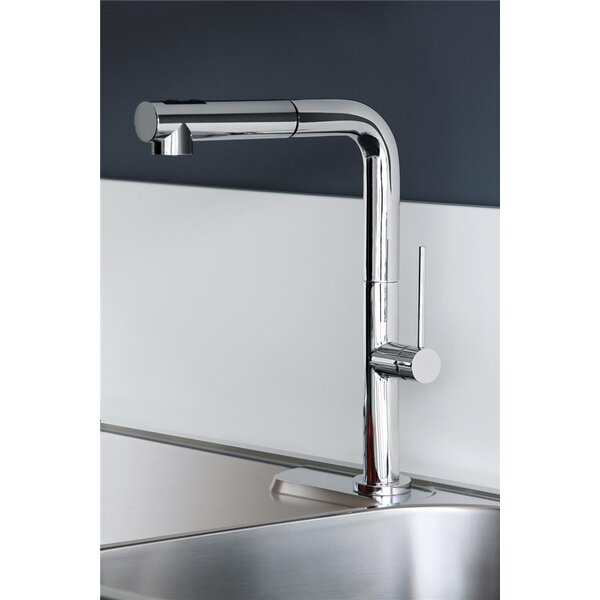 Chef Pull Out Single Handle Kitchen Faucet by WS Bath Collections