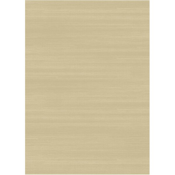 Solid Text Creme Indoor/Outdoor Area Rug by Ruggable