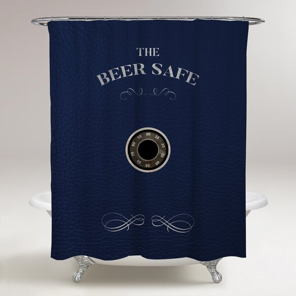 Fiorini Beer Safe Shower Curtain by Red Barrel Studio