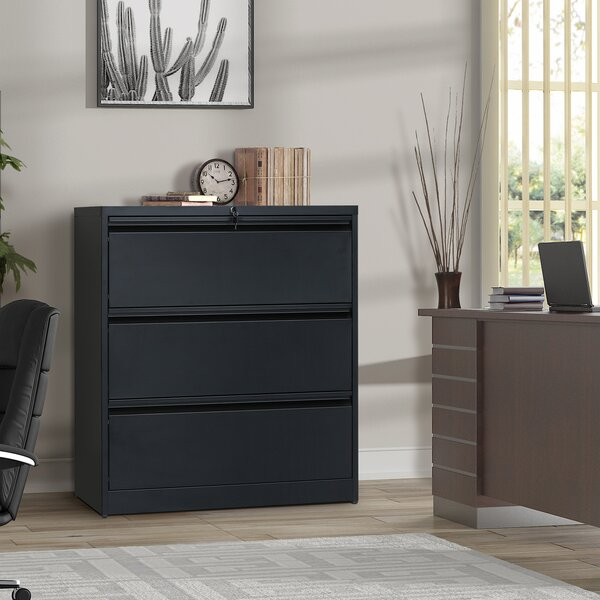 Aloin 3-Drawer Lateral Filing Cabinet