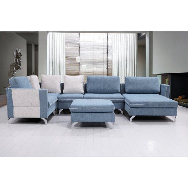 Kalypso Modern Living Room Modular Sectional by Brayden Studio